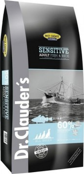 Sensitive: Fisk og ris